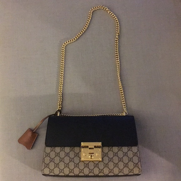 Gucci Bags - GUCCI Padlock Medium GG Shoulder Bag